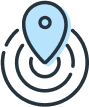 Footer Locate branch icon